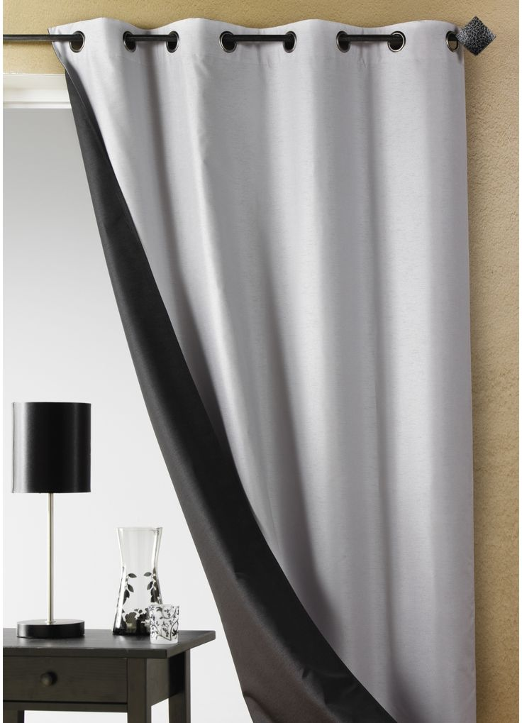 1000 id es sur le th me double rideaux sur pinterest rideaux rideaux oeillets et voilages. Black Bedroom Furniture Sets. Home Design Ideas