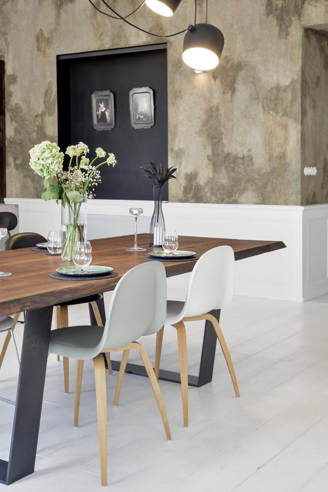 Dining Table With Gubi Chair