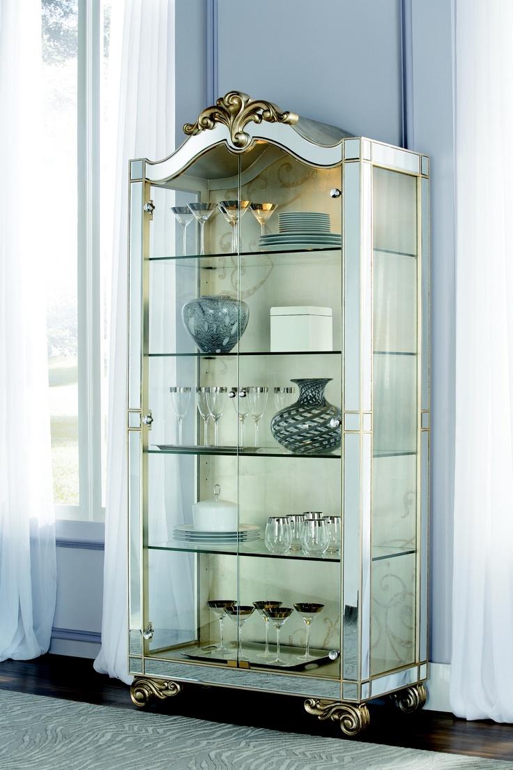 Jessica McClintock Collection - CHINA CABINET #jessicamcclintock  #americandrew #furniture #dining #server