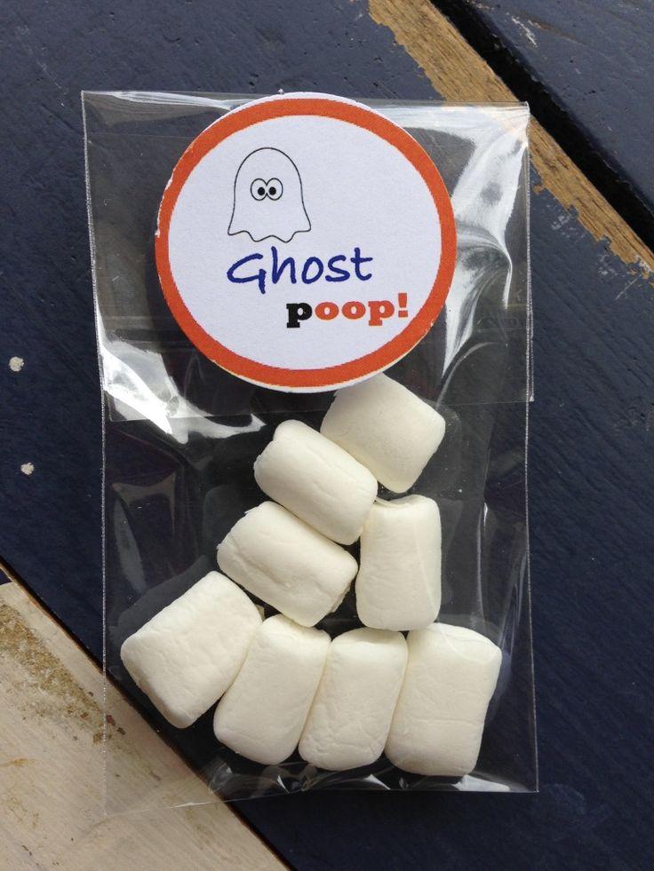Halloween Party Bag Fillers-ghost poop