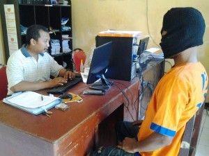 Unit Reskrim Polsek Tanggulangin Tangkap Tangan Pria Bawa Sabu