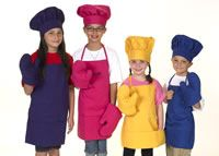 This is an awesome website for a cooking party. You can get everything from one site, from chef's hats, personalized aprons, utensils, baking kits to even party favors. Will definitely be ordering from this site.