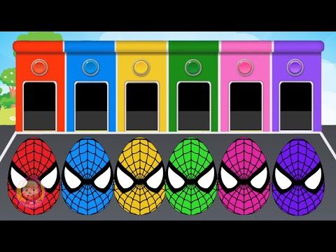 New #Surprise #Eggs for #Kids - Rainbow Spiderman Eggs | Learning Colours and play toys#5 - https://www.avon.com/?repid=16581277 Shop Now  New #Surprise #Eggs for #Kids – Rainbow Spiderman Eggs | Learning Colours and play toys #5 Make sure you SUBSCRIBE Now For More Videos Updates: https://www.youtube.com/channel/UCNPv2EtIVmQcJUHPFyvvblg?sub_confirmation=1 Have Fun with Masha And The Bear made  by Garden Kid Chanel. More #MashaAndTheBear HOT CLIP: Masha And The Bear wit