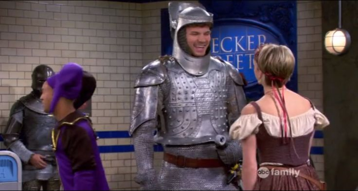 Screen Shot baby daddy a knight to remember season 3 ep 8