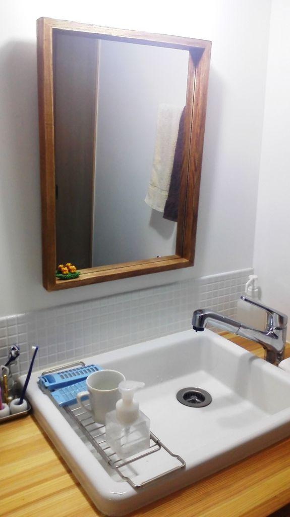 糸くずフィルターの掃除と実験用シンクのスライドラック 私のいちばん好きな家 シンク 実験用シンク 洗面台