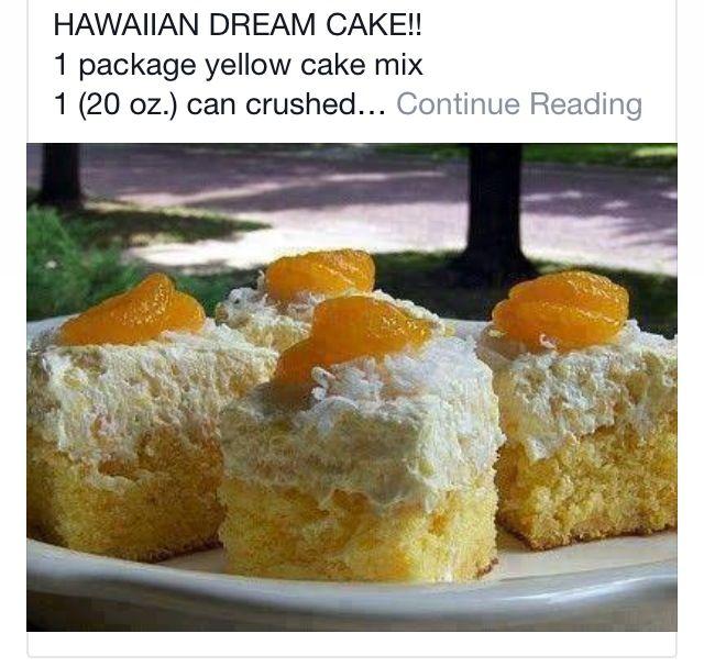 Photo of Hawaiian Dream Cake