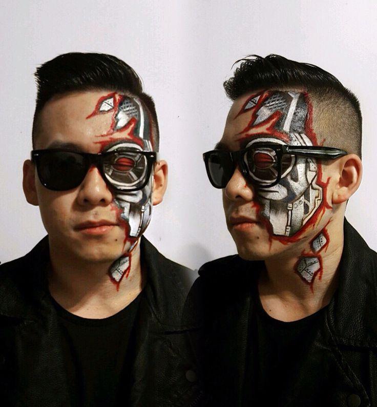 32 Best Terminator Make Up Images On Pinterest