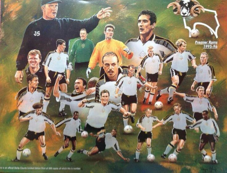 Derby County 95-96