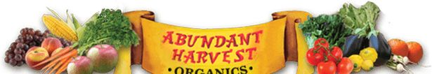 Abundant Harvest Organics- weekly produce & groceries in the Central Valley, CA..... so blessed!!!