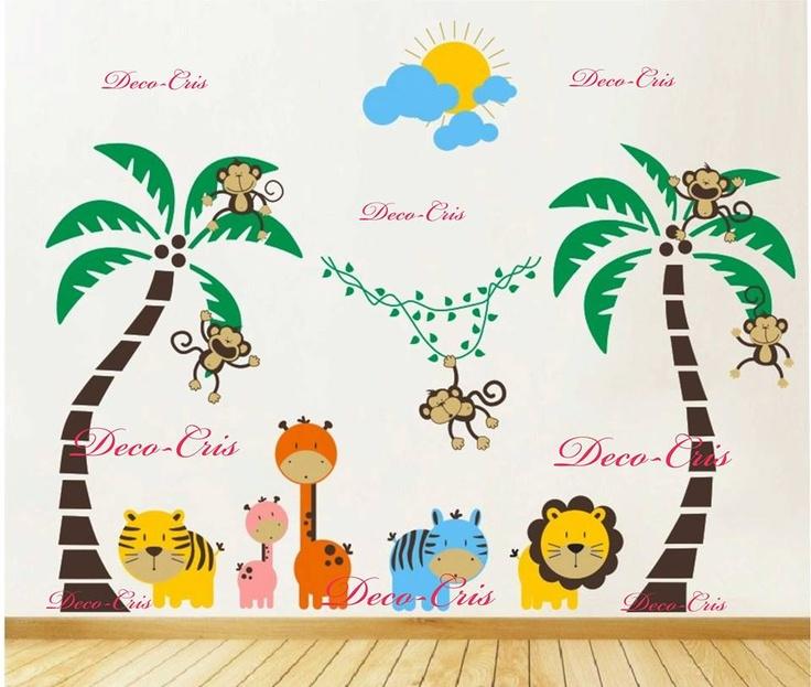 Deco-cris Vinilos Decorativos Infantiles Entra Y Mira - $ 520,00 en MercadoLibre
