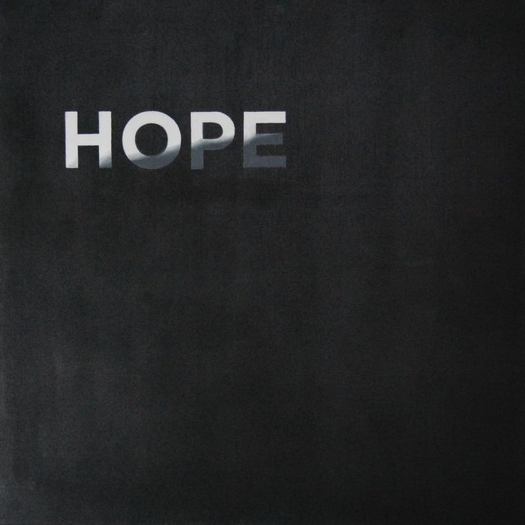 Maybe We Might I, Oil on canvas, painting, typography, hope, american dream