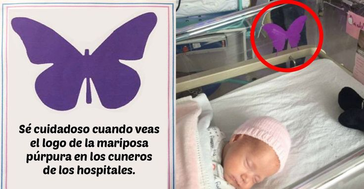 Nada se compara con el dolor de perder a un bebé, así que esta madre creó una mariposa púrpura para cuando hay pérdida de un recién nacido en embarazo múltiple