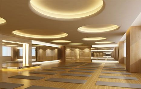 Yoga studio decorating ideas design thailand for Yoga room interior design