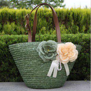 Lo nuevo de grandes bolsas de playa de paja (T853)-en bolsos del mensajero de Equipaje y Bolsas en Aliexpress.com