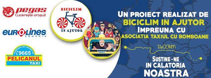 """""""Biciclim în Ajutor"""" pentru """"Bomboland"""""""