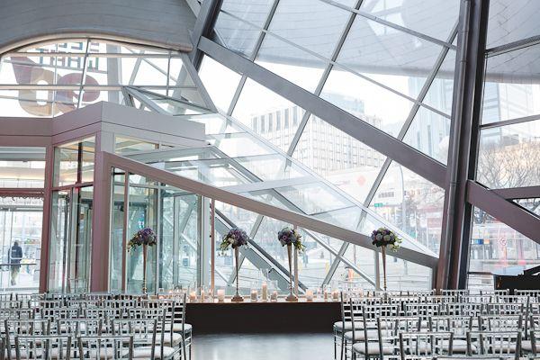 Art Gallery of Alberta Ceremony Wedding || Edmonton Wedding Planner || A Modern Proposal Event Planning