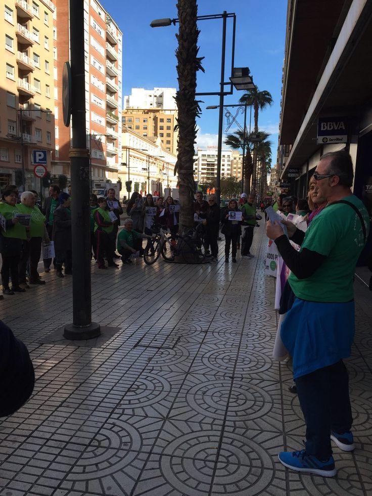 Fotos de la protesta