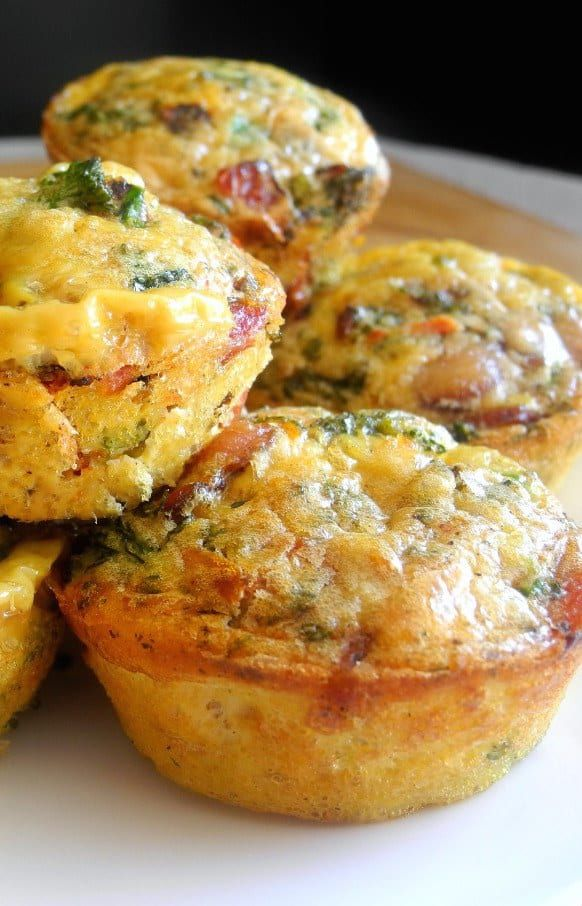 In case you hadn't noticed by the lack of breakfast recipes on this list, I'm not a human who can muster the energy to make elaborate meals before noon. Since my usual breakfast pre-Whole30 was greek yogurt and some fruit, I had to change things up. And mini egg frittatas made in a muffin tin were simple to make AND grab in the morning without much thought, so they became my go-to.