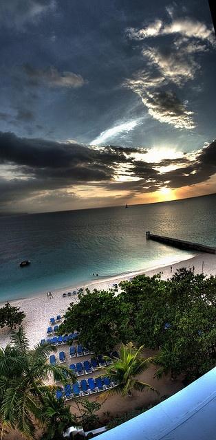 Sunset in Jamaica (Caribbean)