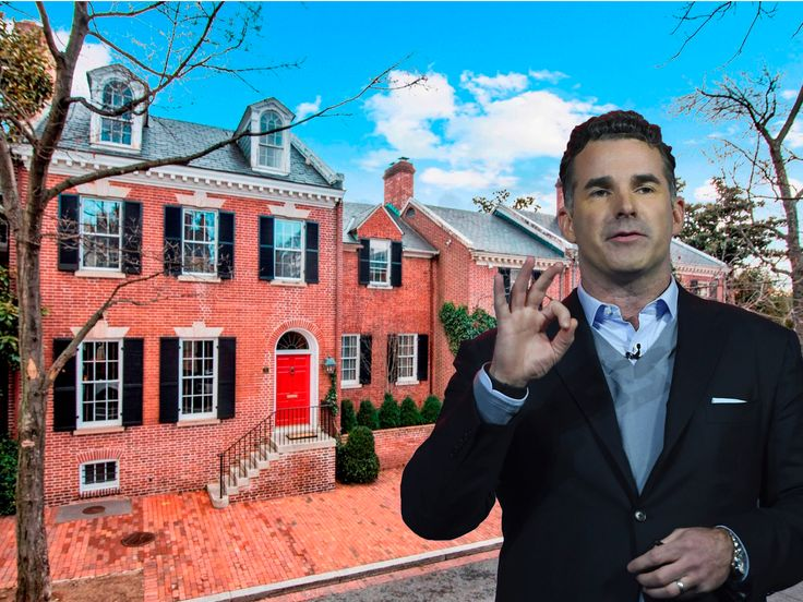 Under Armour CEO Kevin Plank is selling the most expensive home in Washington DC for $29.5 million (UA)