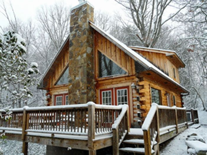 Winter Cabins Log Homes Cabins And Cottages Cabins In