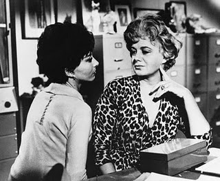 Lee Grant and Shelly Winters in The Balcony