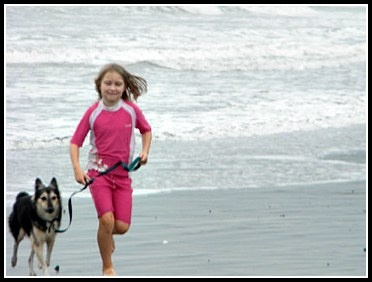 What can you do in Puerto Armuelles, Panama?  A run on the beach with your dog is always a good option.