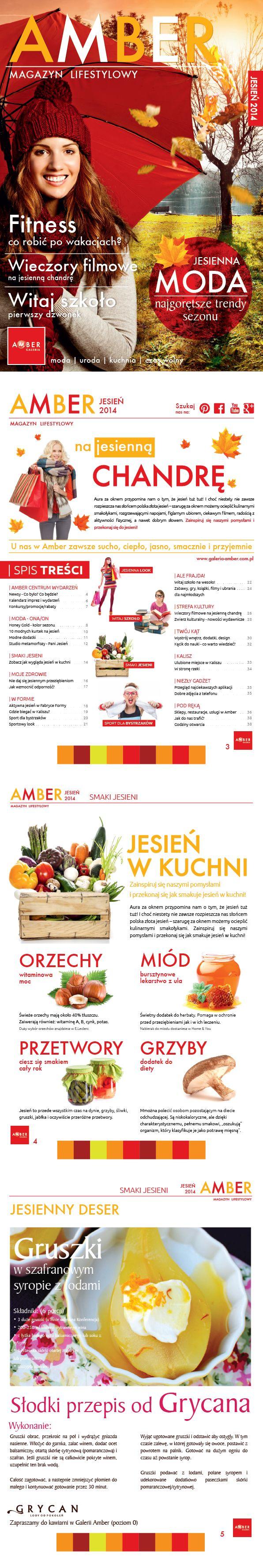 Magazine for shopping center | Design: www.pinkelephant.pl /poster /layout /portfolio /design