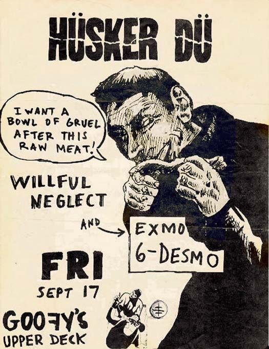 Old Punk Flyers