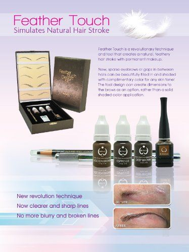 Discount Cosmetic FEATHER TOUCH - Hair Stroke Eyebrow Cosmetic Tattooing-