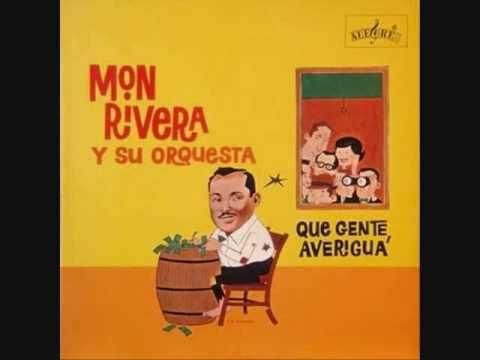 "MON RIVERA Y SU ORQUESTA - ""Lluvia Con Nieve""."
