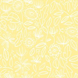 Flowers in Yellow and White