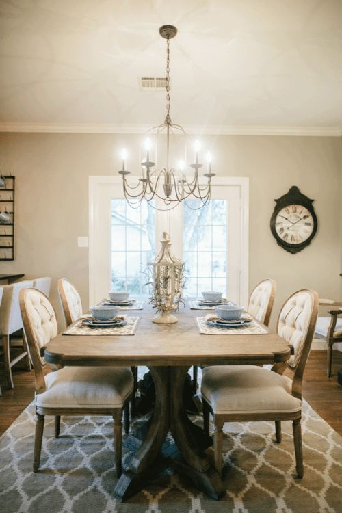 Fixer Upper Dining Room RugsKitchen