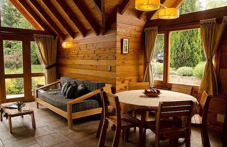 Tillka casas de monta a en puerto manzano caba as en for Casa design manzano