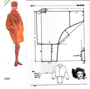 car coat diagram: