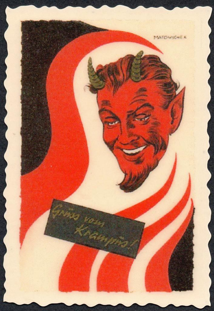 I can never have too much Krampus in my Christmas.