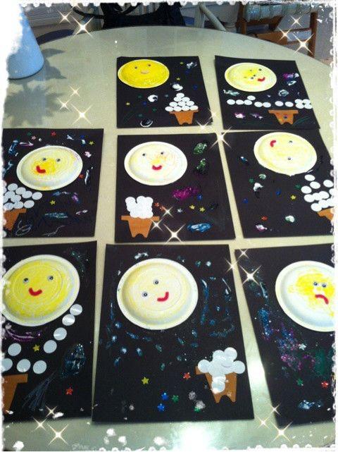 9月お月見工作 の画像|Children's Discovery Place幼児教室~Make, Play and ...