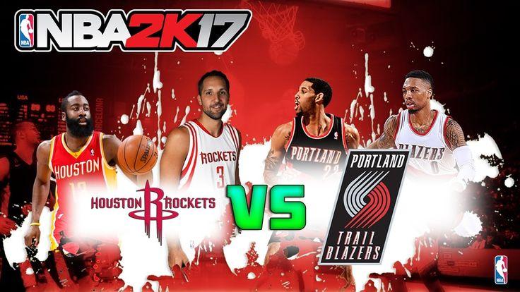 Houston Rockets vs Portland Trail Blazers|Nuk Nuk|NBA Matchday Simulatio...