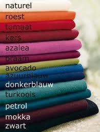 Lentetype - kleuren die mij wat beter staan :-)