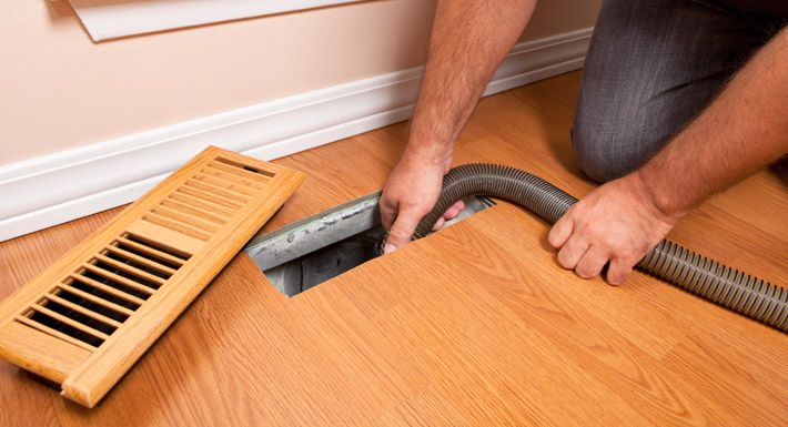 Eagle Cleaning Services for duct cleaning, we also check for animal intrusion, leakages, and any faults in the duct work.