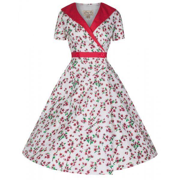 Floral 'Lorraine' Swing Dress | Vintage Inspired Fashion - Lindy Bop