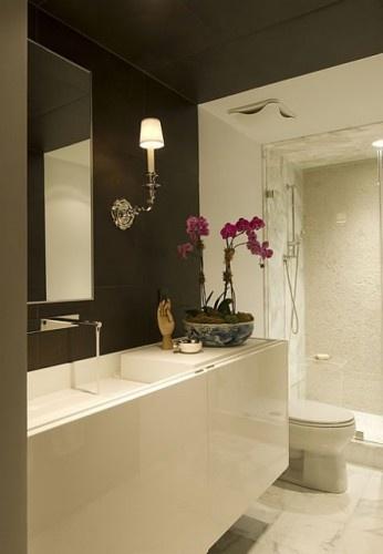 contemporary bathroom by huntley & co #bathroom