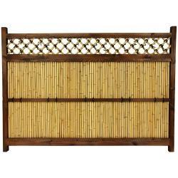 Japanese Bamboo 4x5.5 Foot Zen Garden Fence (China)