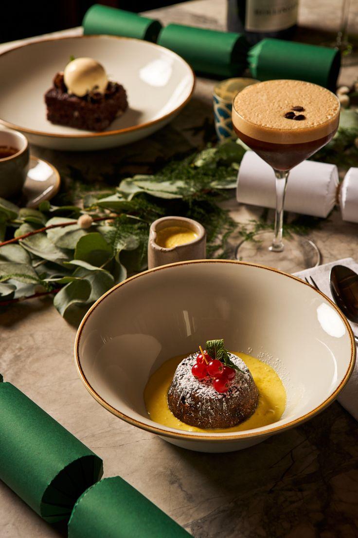 Christmas Pudding with Brandy Custard Christmas day