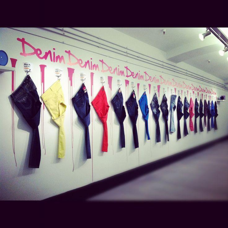 denim display
