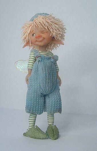 Fairy puppet van Diane Guilinckx de Becker