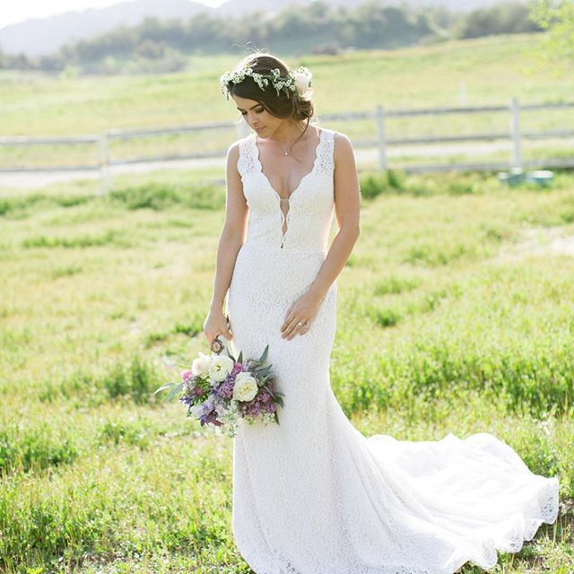 31 best Southern California Lace Wedding Dress images on Pinterest ...