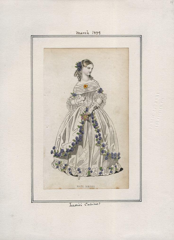 Ladies' Cabinet March 1839 LAPL