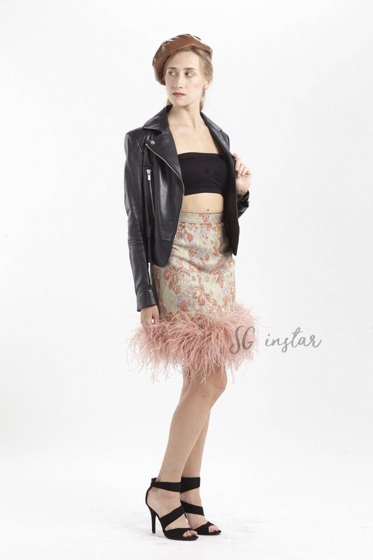 A personal favorite from my Etsy shop https://www.etsy.com/listing/563139128/gina-vintage-ostrich-feathers-boas-skirt