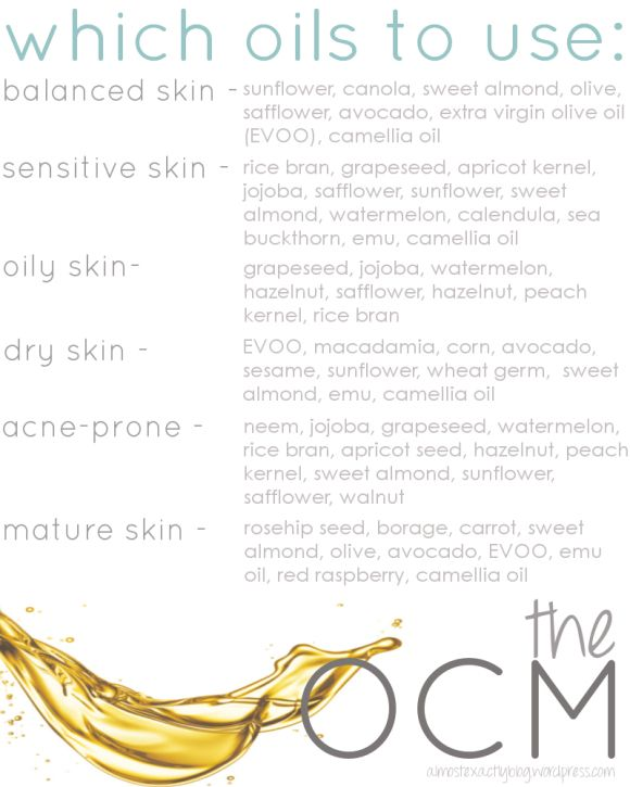 oil cleansing method- what oils you should use